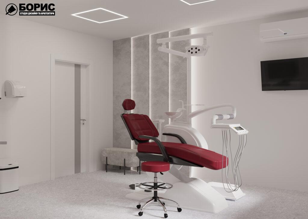 Дизайн-проект интерьера стоматологической клиники